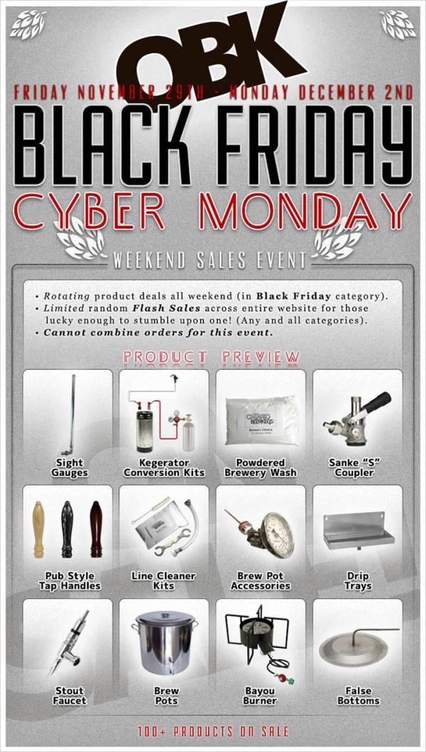 Black Friday / Cyber Monday 2013 OBK Canada